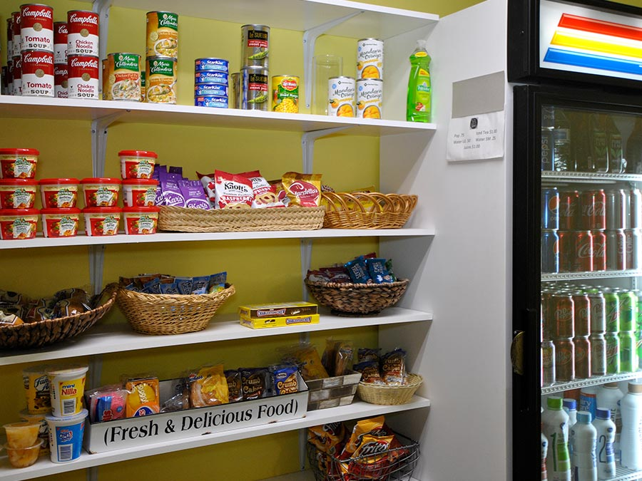 Westhaven Manor on-site convenience store