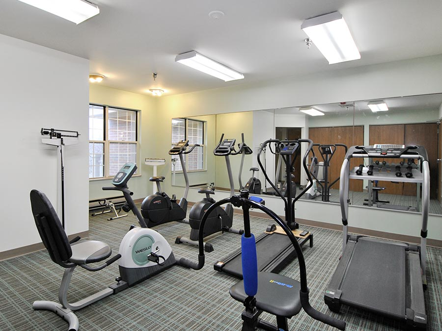 Westhaven Manor fitness center